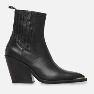 Kenneth Cole Leather Bootie